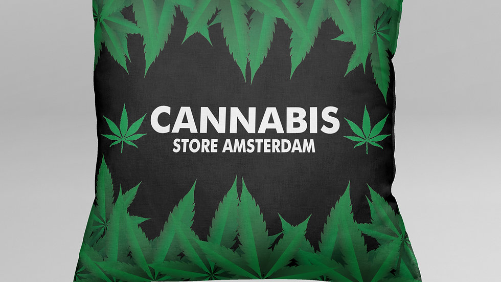 Cuscino Cannabis - CS006CB