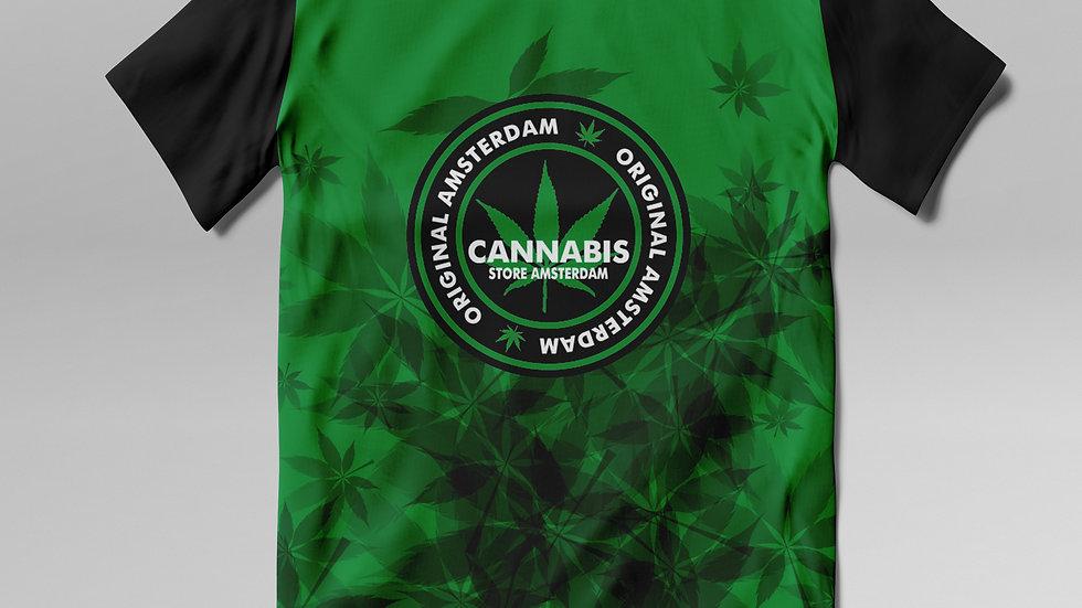T- Shirt Cannabis - TS004CB
