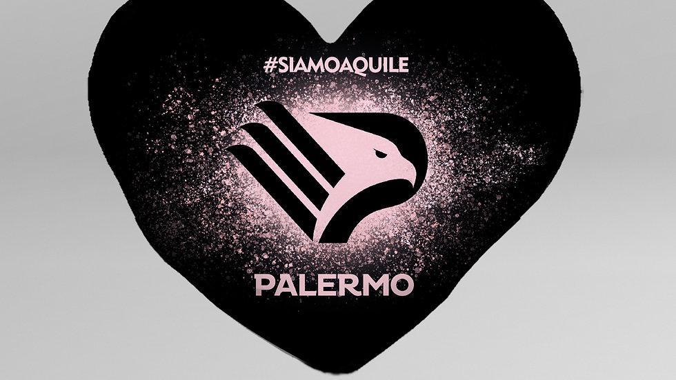 Cuscino Cuore SSD Palermo - CC001PL