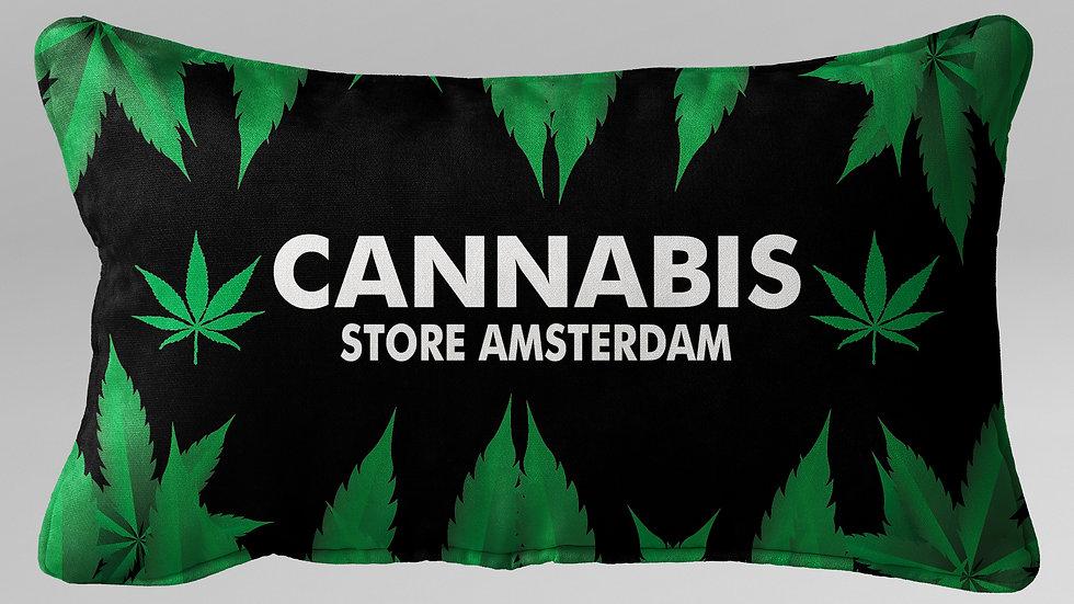 Cuscino Guanciale Cannabis - CG004CB