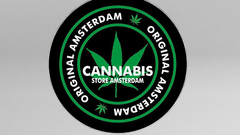 Tappeto Cerchio Cannabis - TP003CB