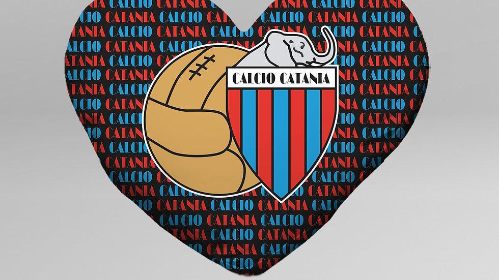 Cuscino Cuore Calcio Catania - CC001CT