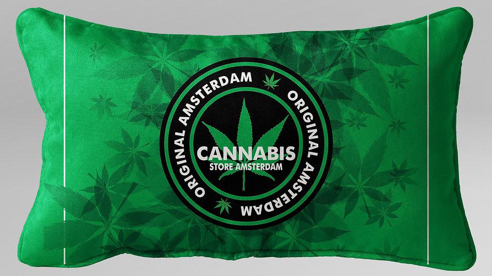 Cuscino Guanciale Cannabis - CG003CB