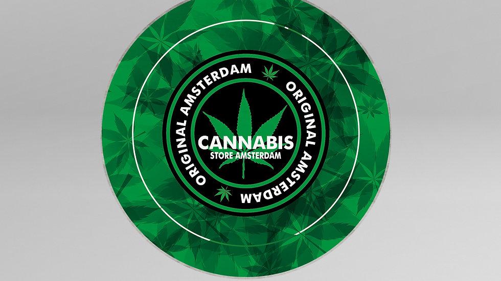 Tappeto Cerchio Cannabis - TP004CB