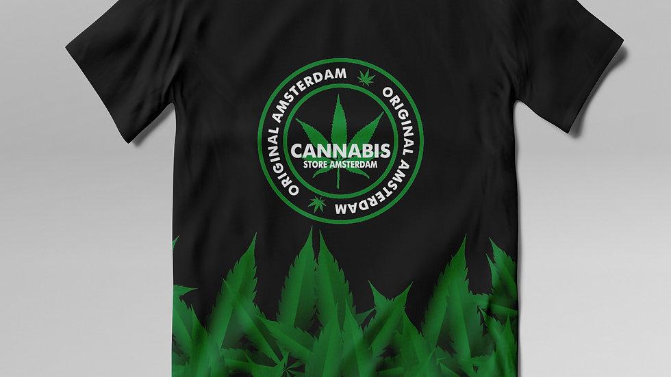 T- Shirt Cannabis - TS005CB