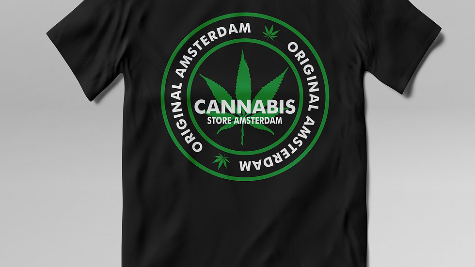 T- Shirt Cannabis- TS002CB