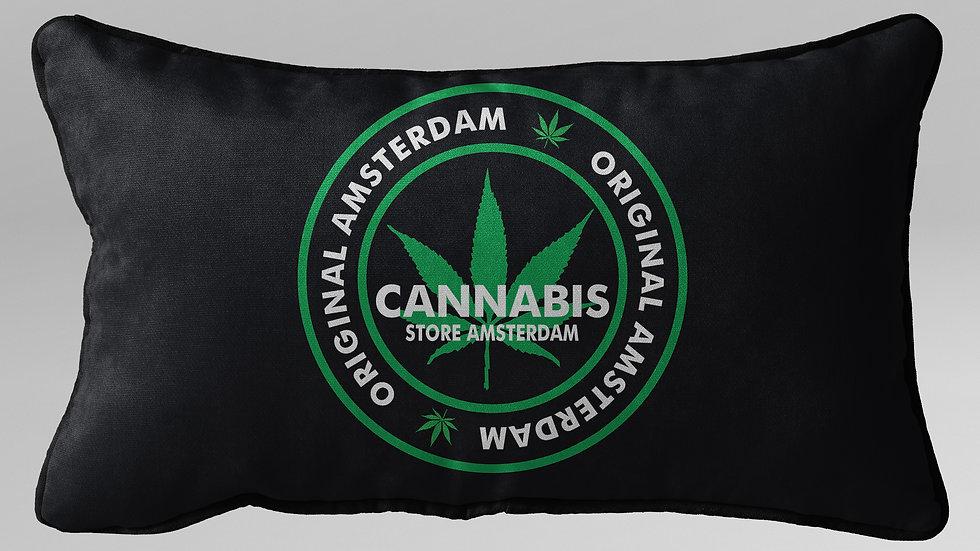 Cuscino Guanciale Cannabis - CG001CB