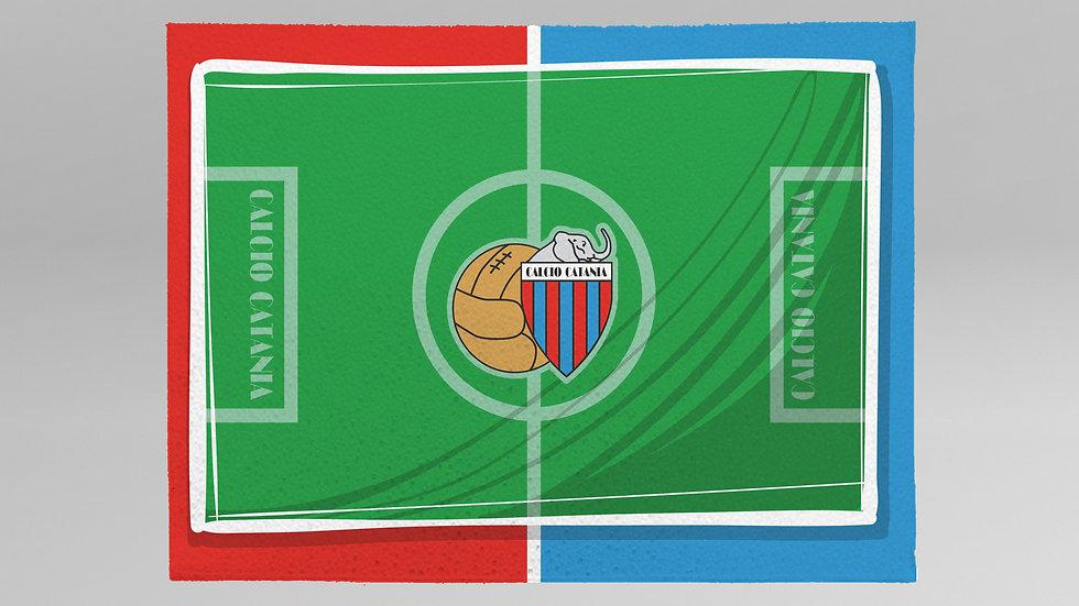 Tovaglietta Colazione Calcio Catania - TC003CT