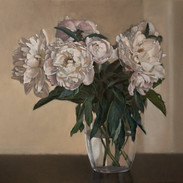 Peonies, 60x50cm, Oil on canvas