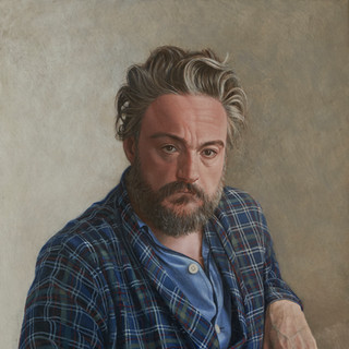 Early morning, 50x70 cm, Egg tempera on