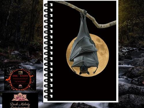 3D Notizbuch Fledermaus