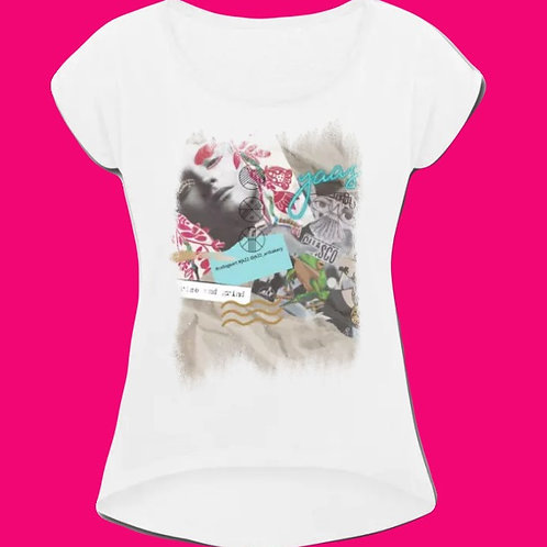 T-Shirt, Round Neck, Loose Fit