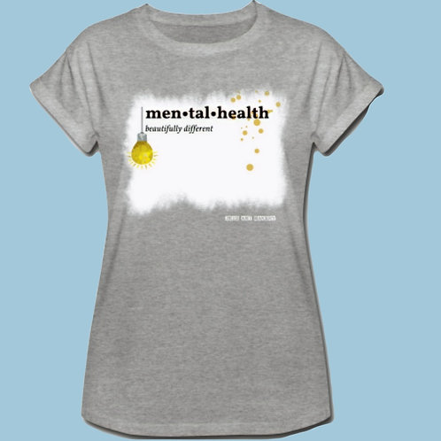 T-Shirt, High Neck, Loose Fit