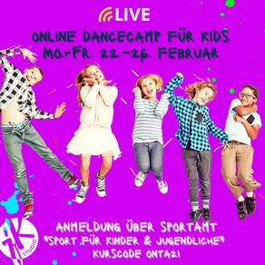 Dancecamp für Kids Online
