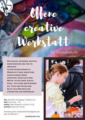 Offene creative Werkstatt für Kids
