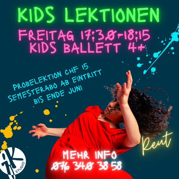 Kinder Ballett 4+ Vorort
