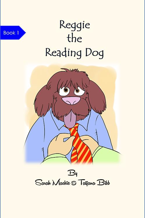 Reggie the Reading Dog