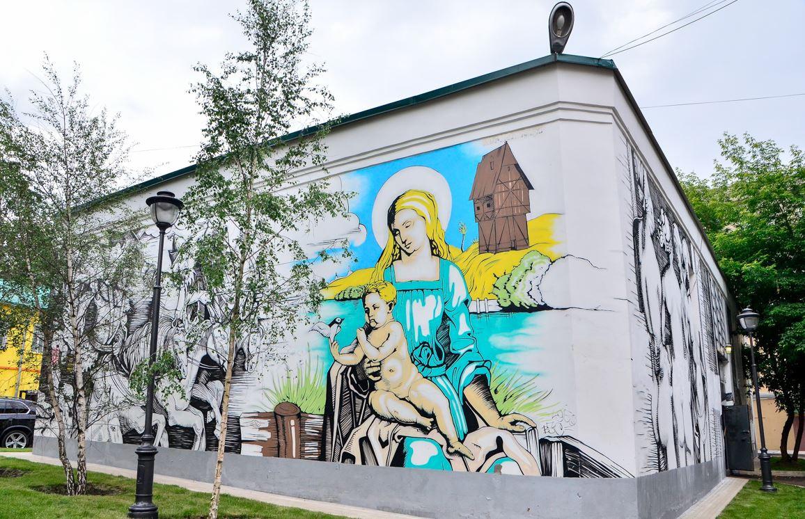 БОЛЬШОЙ СПАСОГЛИНИЩЕВСКИЙ ПЕР., МОСКВА.