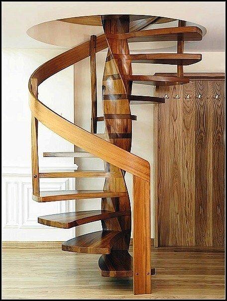 Авторская винтовая лестница