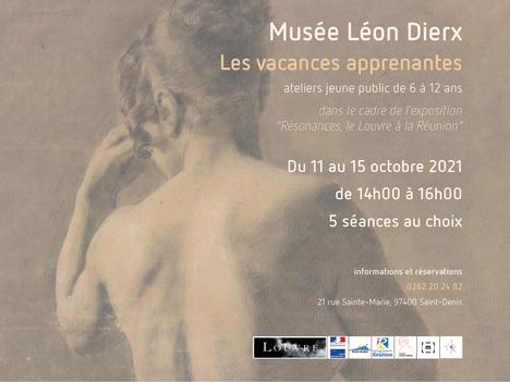 Les vacances apprenantes au Musée Léon Dierx