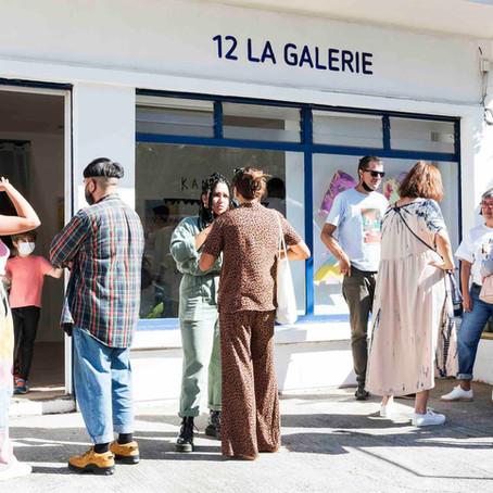 Vernissage et ouverture de la galerie !