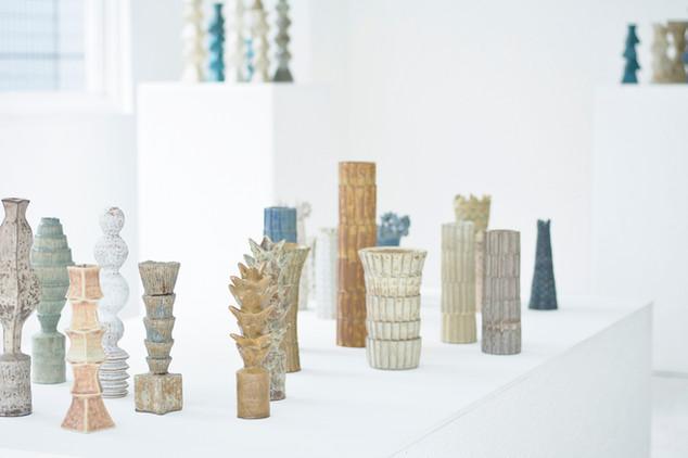 """""""Sculptural Vessels"""", Curators Cube, Tokyo 2017"""