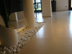 Pavimenti in pietra Brera spazzolata in opera