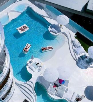 Arredo piscina galleggiante