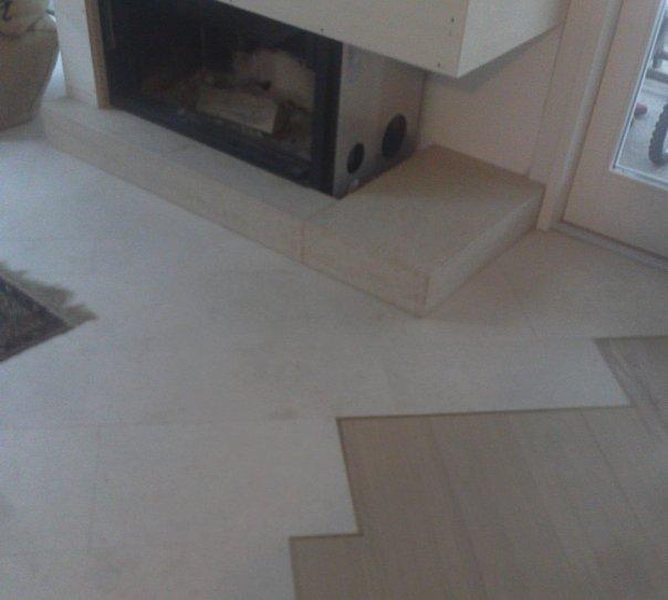 Pavimenti in Pietra d'Istria e Rovere