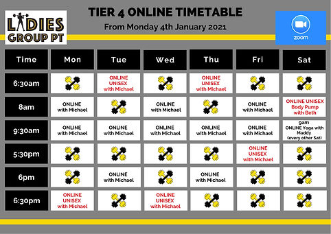 1. 4th January Tier 4 online only_Ladies