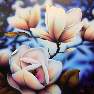 Warren Salter Art - Magnolia