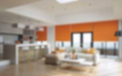 Designer range, best blinds in cape town. carnival oranje