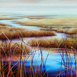 Warren Salter Art - Crazy River