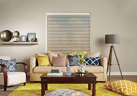 visage blind, blinds, automated blinds, interior design