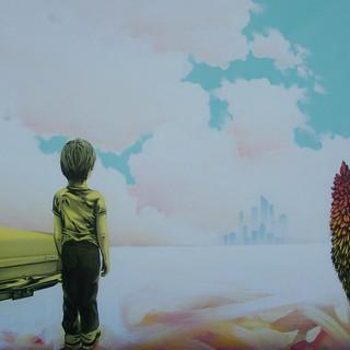 Warren Salter Art - City of Dreams