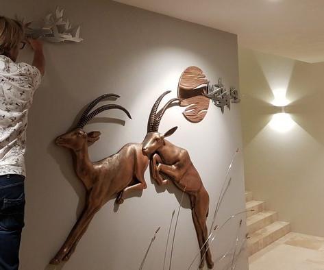Warren Salter Art - Copper Sculpture