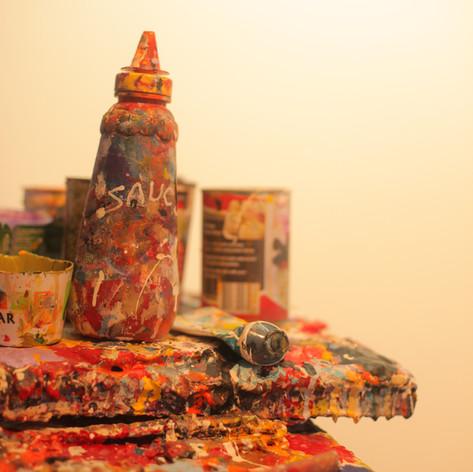 Warren Salter Art - Home Studio