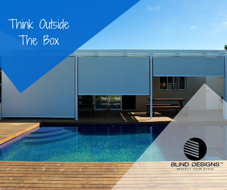 Outdoor blinds, automated, cape town