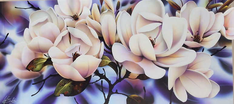 Warren Salter Art - Magnolia