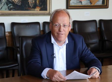 Bielefelder Oberbürgermeisterwahl 2020 - Interview mit Pit Clausen (SPD)