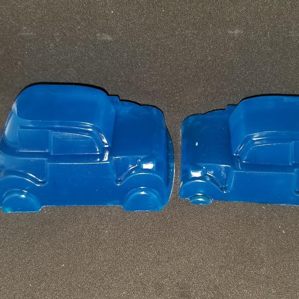 Glycerin Soap Cars