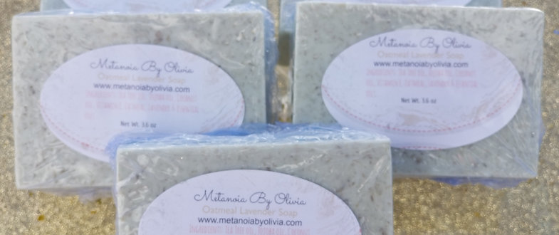 Wholesale Oatmeal Lavender Soap(50 count)