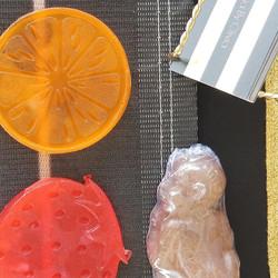 Fruit slices Glycerin soap