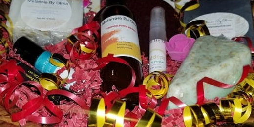 Female Medium Gift Basket. (Free shipping).