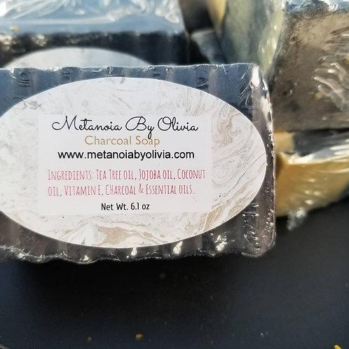 Charcoal Shea Butter Soap