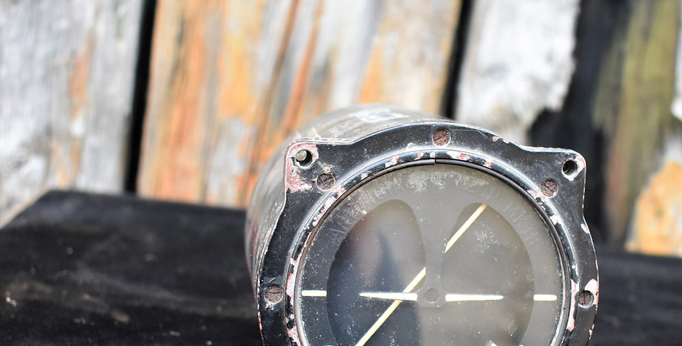 Antique Vintage Air Ministry RAF Artificial Horizon 6A/1519 Spitfire Mosquito