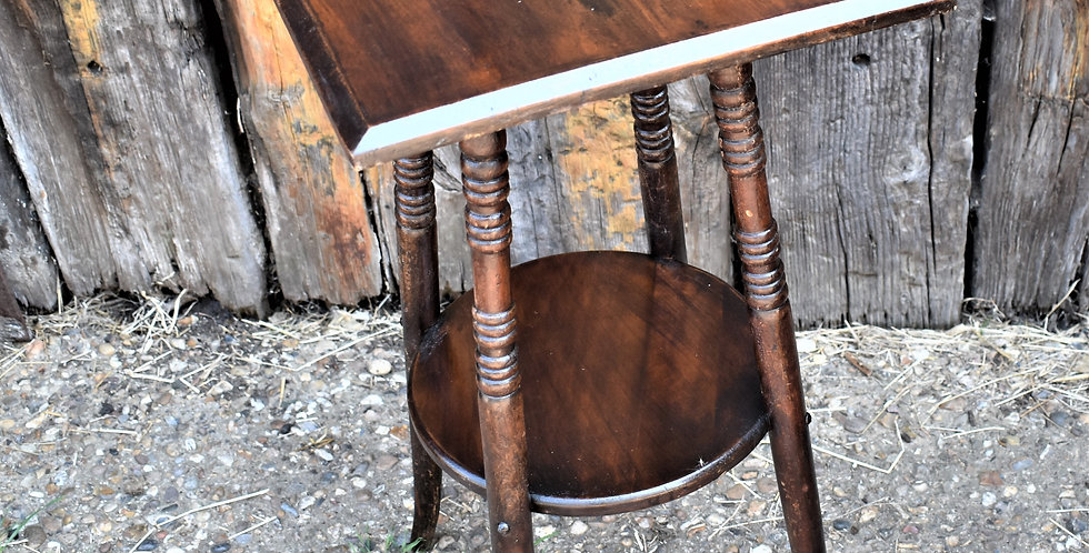 Antique Edward  W Godwin Style Table Aesthetic Movement Side Occasional Table