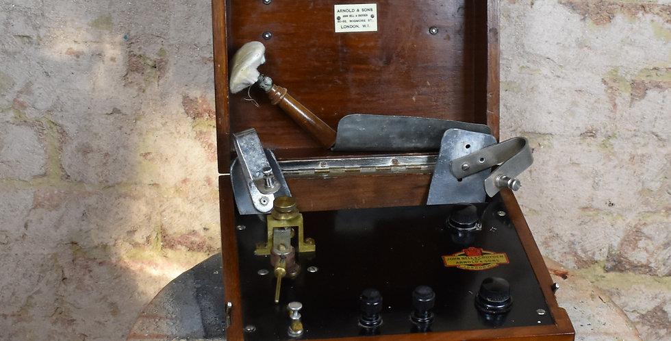Antique Arnold and Sons London Nervous Electric Shock Machine Scientific Medical