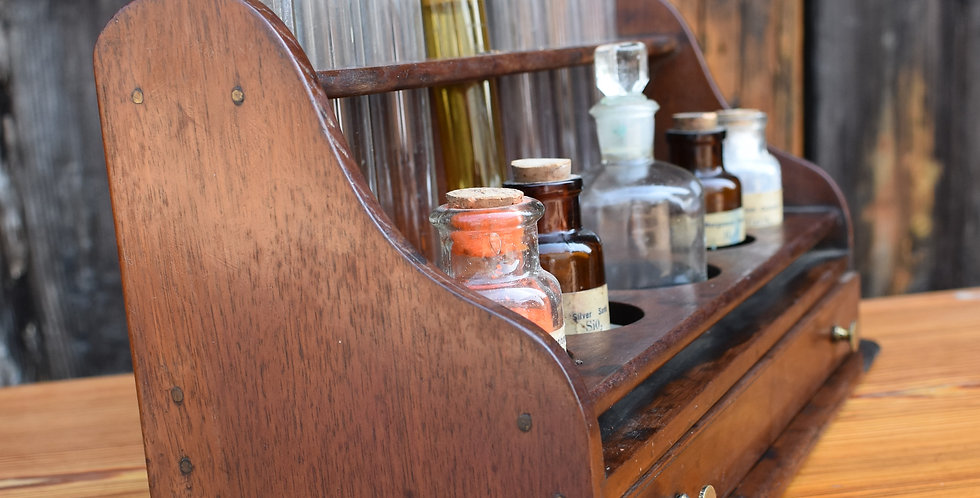 Antique Victorian Apothecary Rack Chemist English Mayer, Meltzer London