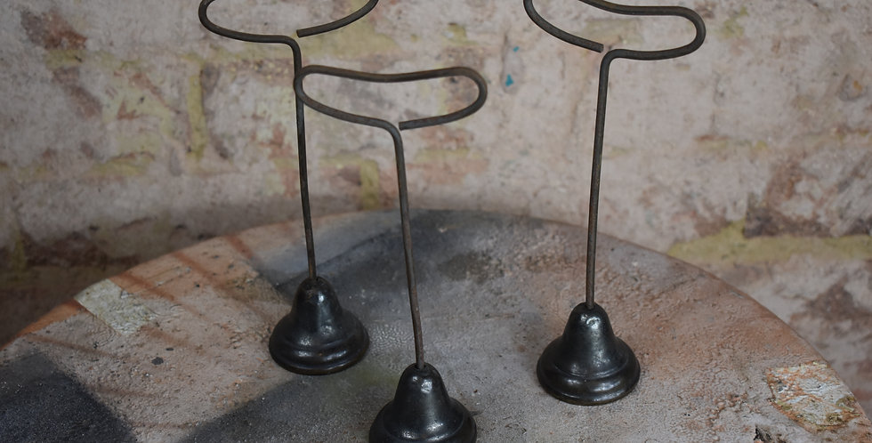 Antique shop haberdashery display stands